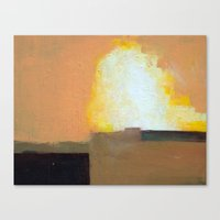 Tianjin Explosion Canvas Print