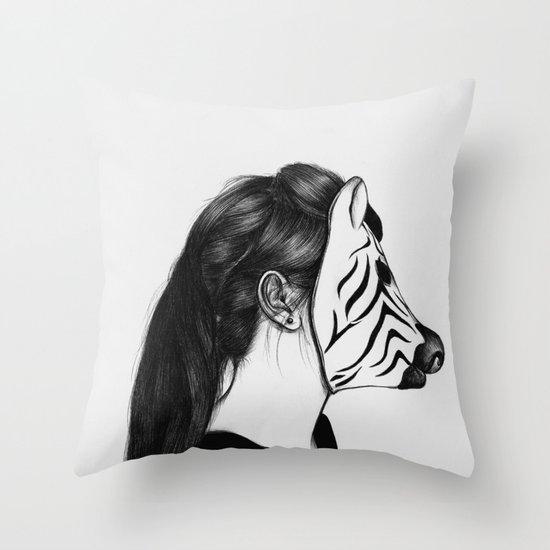 Peculiar II Throw Pillow