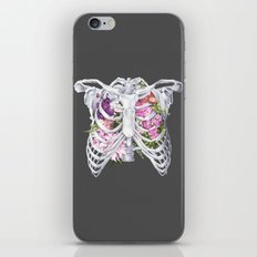 Floral Ribcage iPhone & iPod Skin