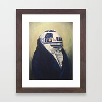 Duke R2-D2 Framed Art Print