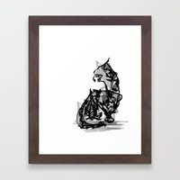 Mousey Mousey Framed Art Print