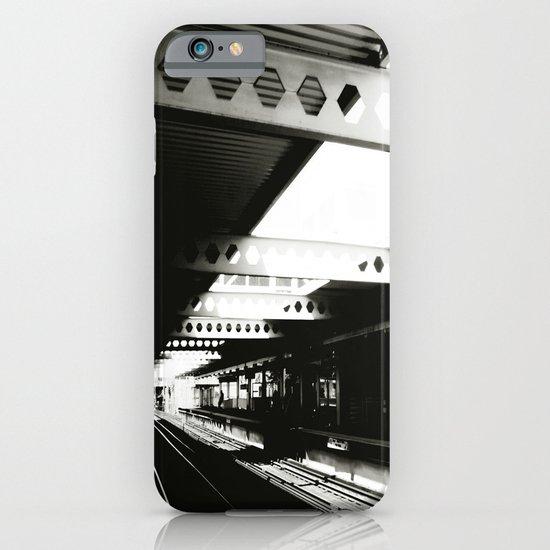 blue line iPhone & iPod Case