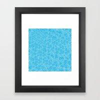 Blue Meth / Happy Sky Framed Art Print
