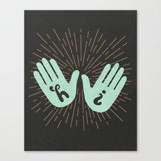 Hi Fives Canvas Print