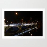 Queens Bridge Belfast Art Print