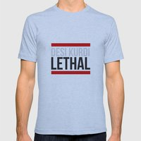 Lethal Mens Fitted Tee Athletic Blue SMALL