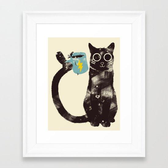 On Drugs Framed Art Print