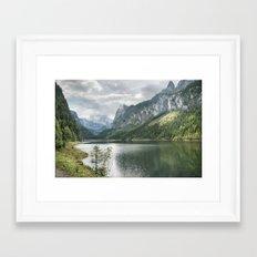 Gosausee Framed Art Print