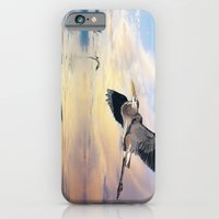 iPhone & iPod Case featuring Gulf Sunset Reflections by tarrby