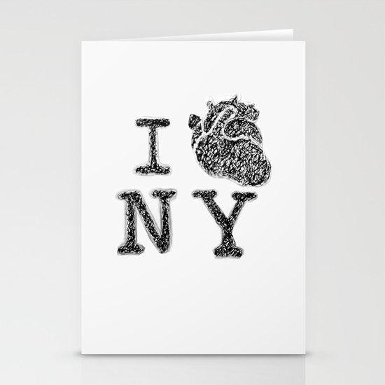 I HEART NEW YORK Stationery Card