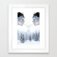 Breath of Winter Framed Art Print