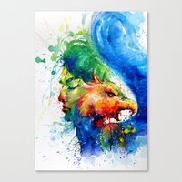 Beauty and the Beast-no.1 Canvas Print