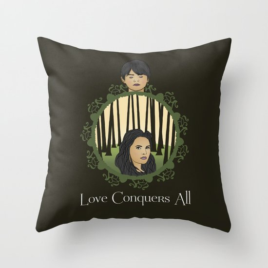 Once Upon A Time - Two Halves, One Whole Throw Pillow
