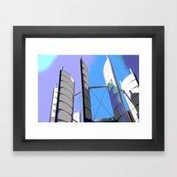 Metal Sails #2 Framed Art Print