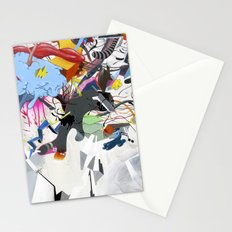 I blame the radio waves Stationery Cards