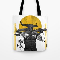 Horns Up Tote Bag
