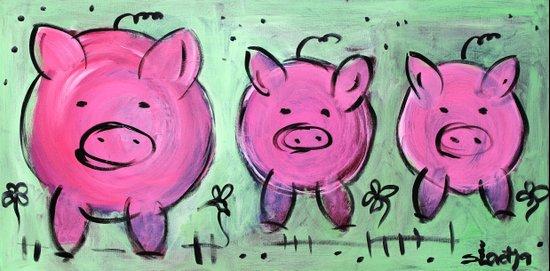 Mama pig Art Print