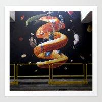 Hay Que Buscar En El Int… Art Print