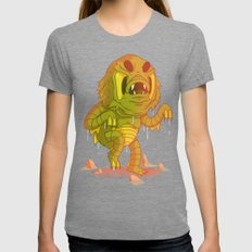 Creature From The Black Lagoon Womens Fitted Tee Tri-Grey SMALL