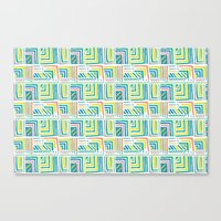 Geometric Color Canvas Print