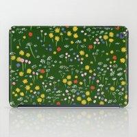 Wildflowers iPad Case