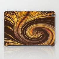 Golden Filigree Germinat… iPad Case