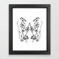 Seedy Framed Art Print