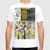 Cosmic Charlie Mens Fitted Tee White SMALL