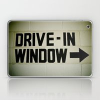 Drive-in over there Laptop & iPad Skin
