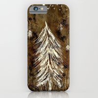 iPhone & iPod Case featuring Dawn In A Burning Forest by Jussi Lovewell