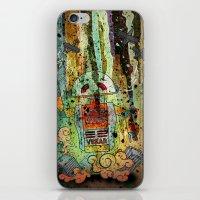 Vegan-Bot iPhone & iPod Skin