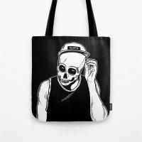 Dead Cozy Boy Tote Bag