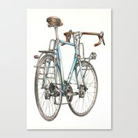 brooklyn blue beauty Canvas Print
