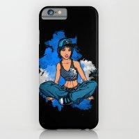 Headphone girl iPhone 6 Slim Case