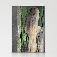 Green Peel Stationery Cards