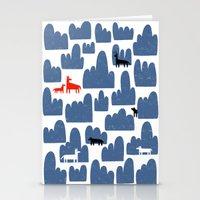 Animal World Stationery Cards