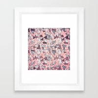 Crush On You Framed Art Print