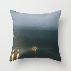 Jasper National Park III Throw Pillow