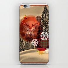 Christmas scene. iPhone & iPod Skin