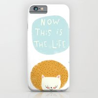 iPhone & iPod Case featuring now this is the life by Lori Joy Smith