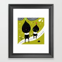 Home Is Where I'm With Y… Framed Art Print