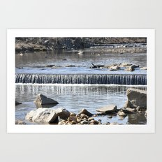 Waterfalls Art Print
