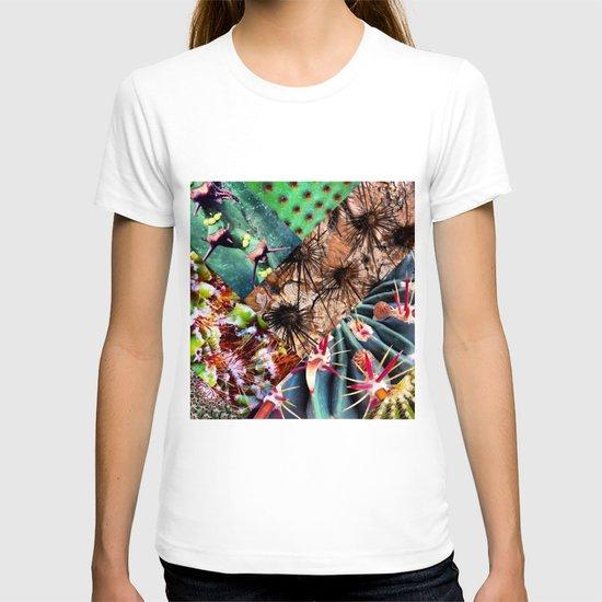 Cactus Collage T-shirt