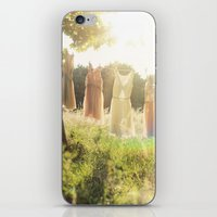 Lace laundry iPhone & iPod Skin