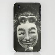 Anonymous iPhone (3g, 3gs) Slim Case