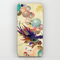 Chinese Lunar New Year and 12 animals  ❤  The DRAGON 龍 iPhone & iPod Skin