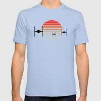 Order Of The Rising Sun Mens Fitted Tee Tri-Blue SMALL
