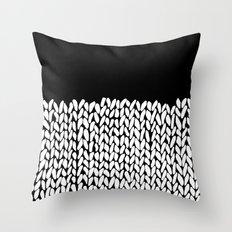 Half Knit Throw Pillow