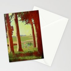 Daisy's in the field Stationery Cards