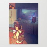 The Glass Boy Canvas Print